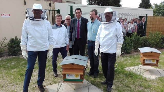 Inauguration d'un rucher