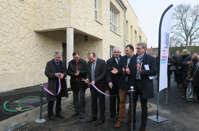 Inauguration à Boran sur Oise