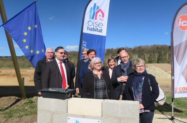 Brenouille, première opération en partie financée par la BEI (Banque Européenne d'Investissement)