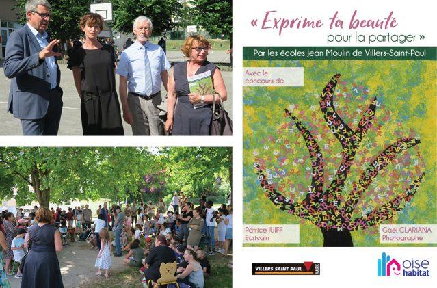 Oise Habitat s'investit dans la vie de quartier à Villers Saint-Paul