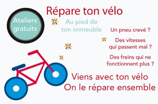 Des ateliers d'auto-réparation de vélos à Creil