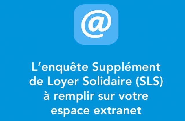 L'enqûete SLS bientôt en ligne