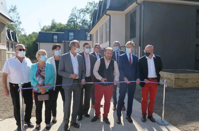 Inauguration de la nouvelle résidence à Orry-la-Ville